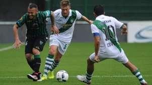 Maximiliano Lugo Juan Manuel Cobo Walter Erviti Banfield San Martin San Juan Campeonato de Primera Division 02102016