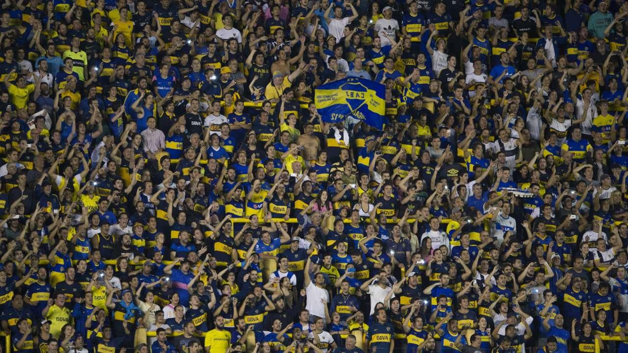 Boca Palestino Copa Libertadores Bombonera Buenos Aires 16042015