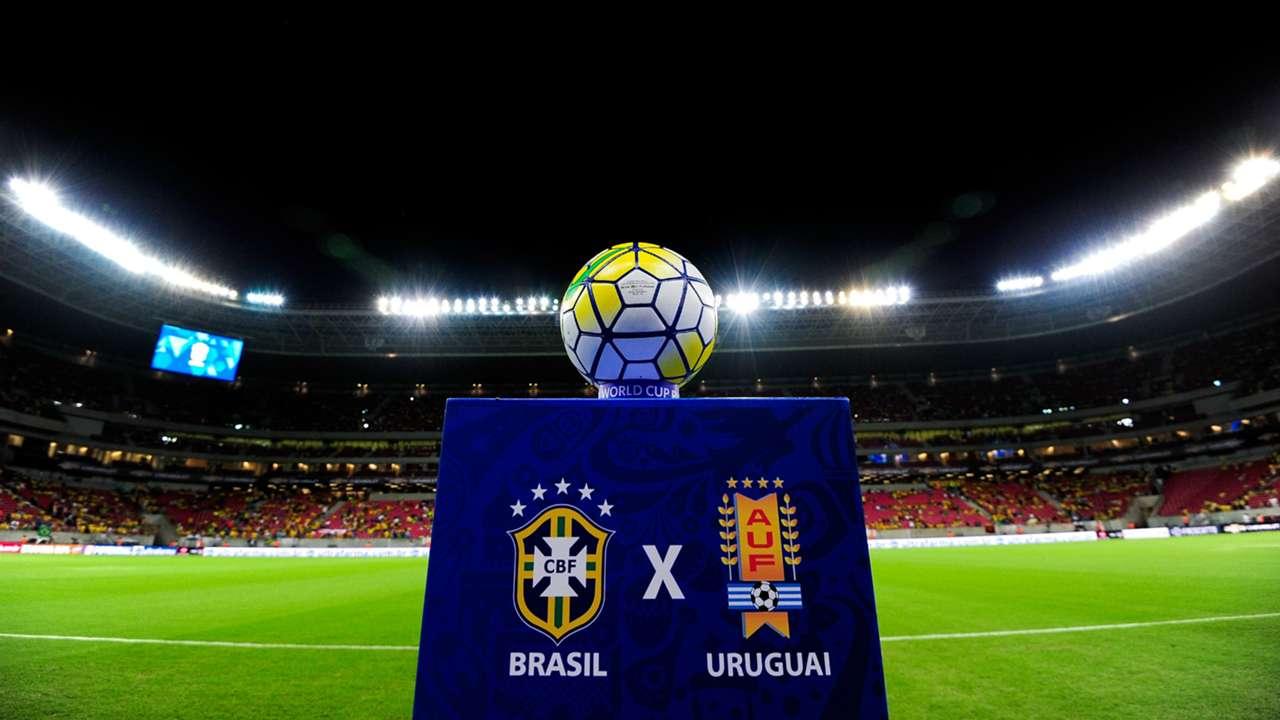 Brazil Uruguay South America Qualifiers 2016