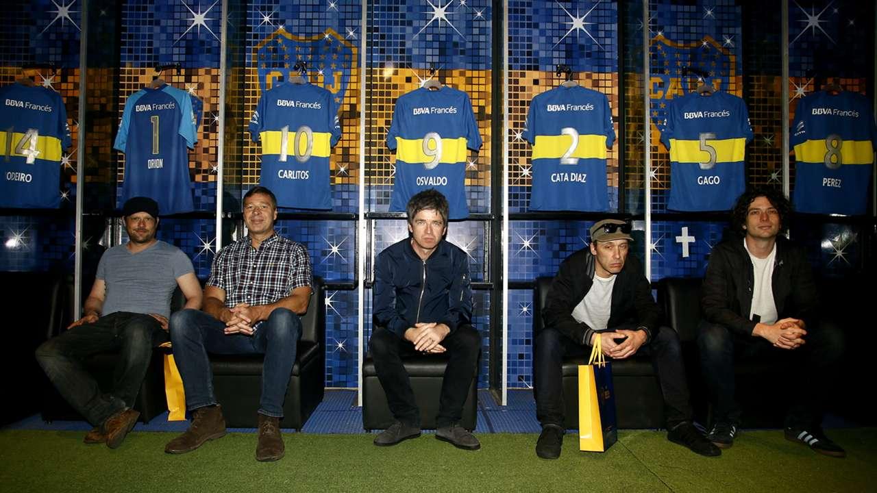 vestuario Noel Gallagher Boca 18032016