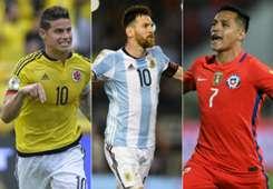 Eliminatorias Sudamericanas collage