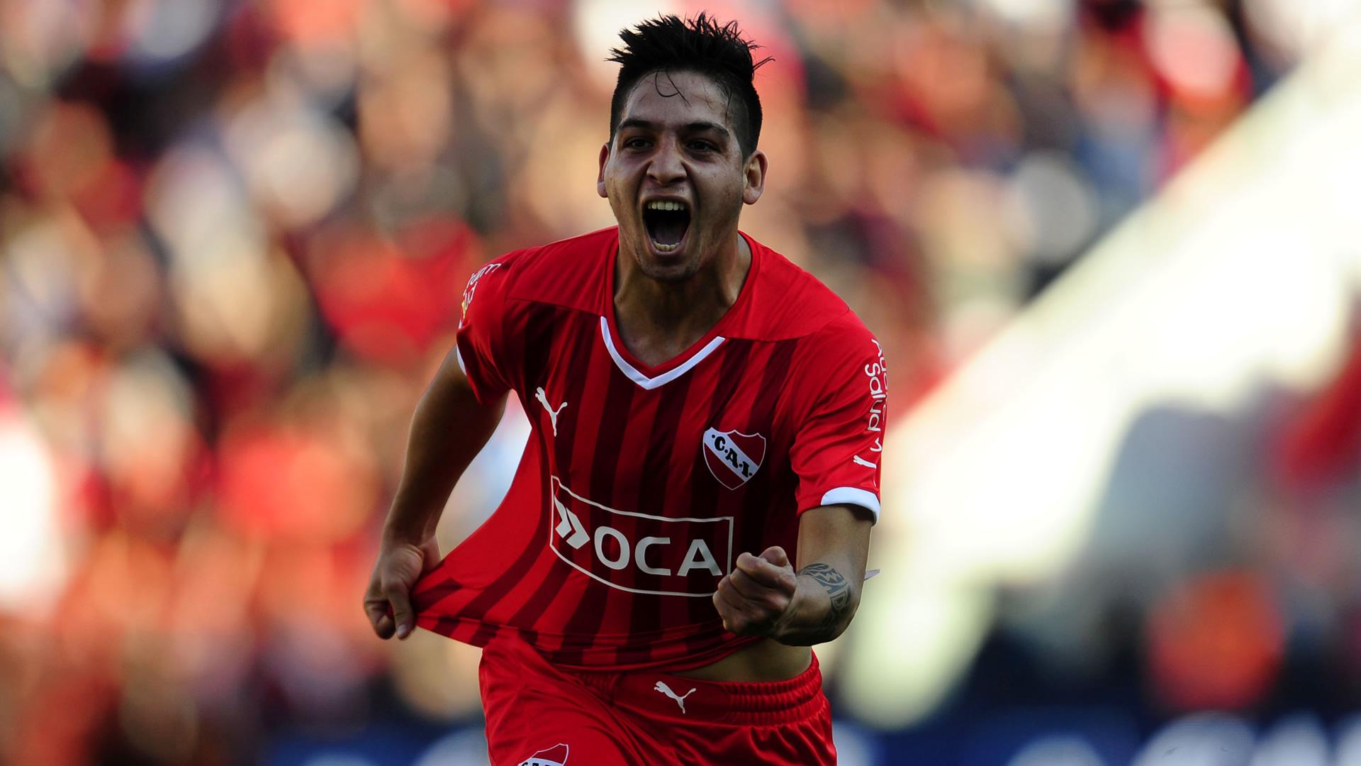 Martin Benitez Independiente Racing Primera Division 12092015