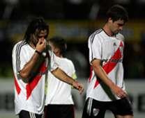 Ernesto Farias Danilo Gerlo Caracas River Copa Libertadores 2007