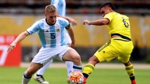 Ascacibar Argentina Colombia Sudamericano Sub20 02022017