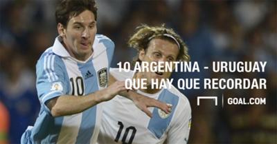 GFX Portada Argentina Uruguay Memorables