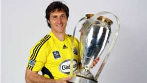 Guillermo Barros Schelotto Columbus Crew MLS Cup Trophy 2008