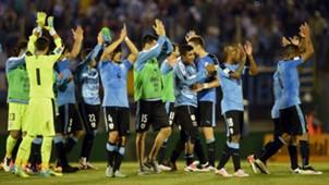 Uruguay festejo Eliminatorias