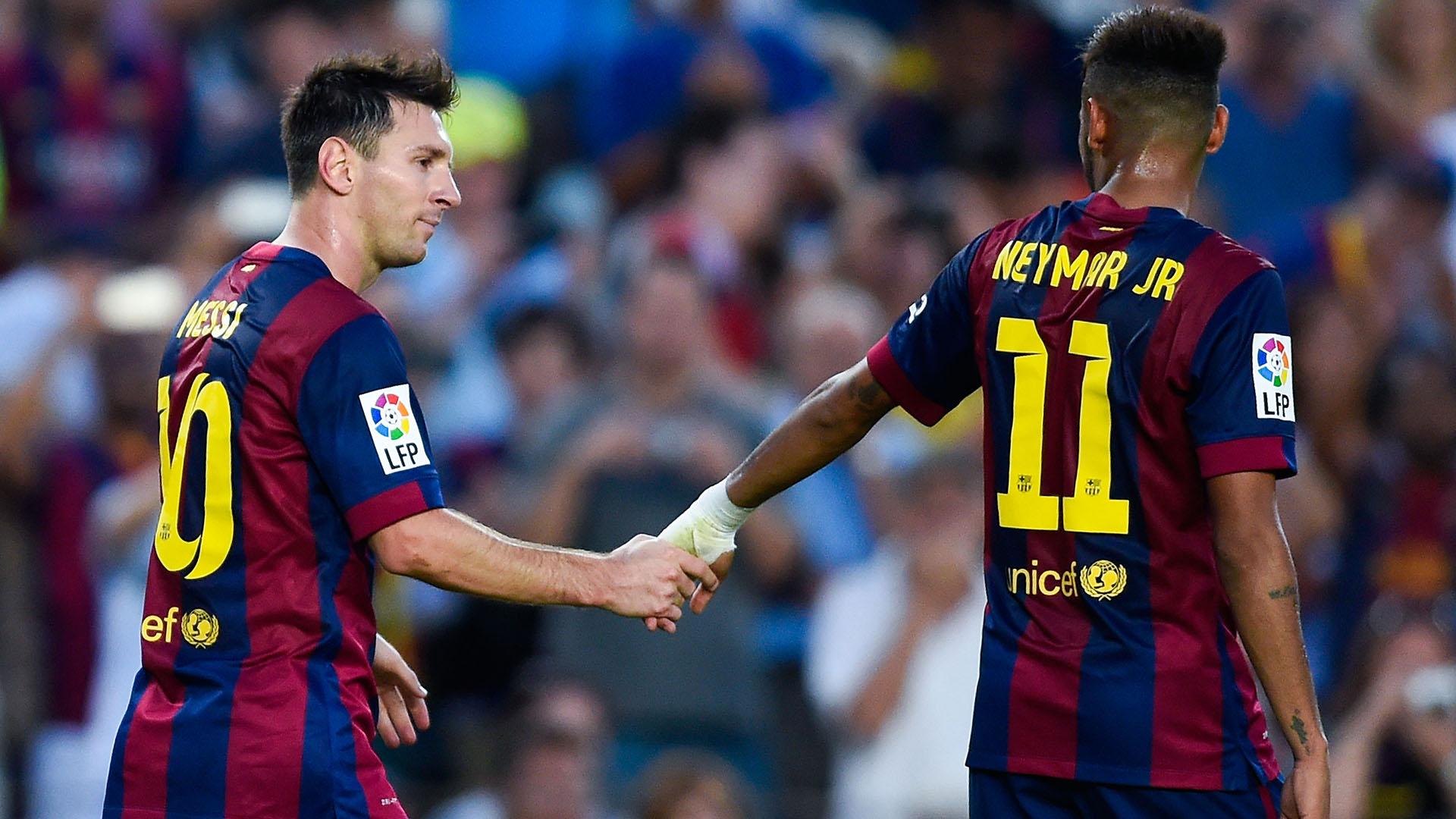 Messi Neymar Barcelona Granada 04112016