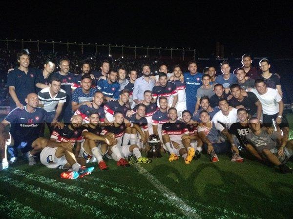 San Lorenzo campeón Supercopa Argentina festejos