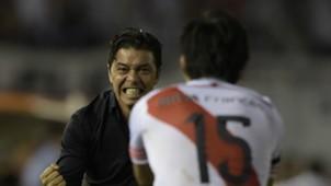 Marcelo Gallardo River Boca Copa Sudamericana Semifinales 2014
