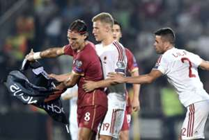 Serbia Albania Euro 2016 Qualifiers Incidents