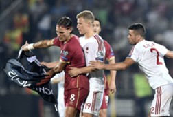 Serbia Albania Euro 2016 Qualifiers Incidents