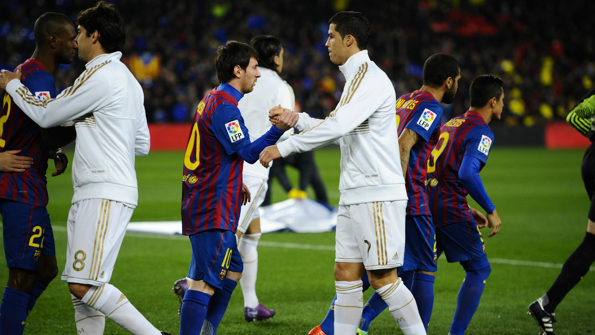 Lionel Messi Cristiano Ronaldo Barcelona Real Madrid Camp Nou Copa del Rey 25012012