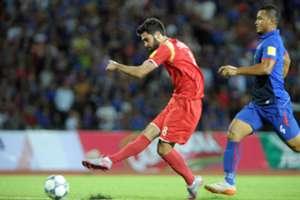 Omar Kharbin, goleador de Siria.
