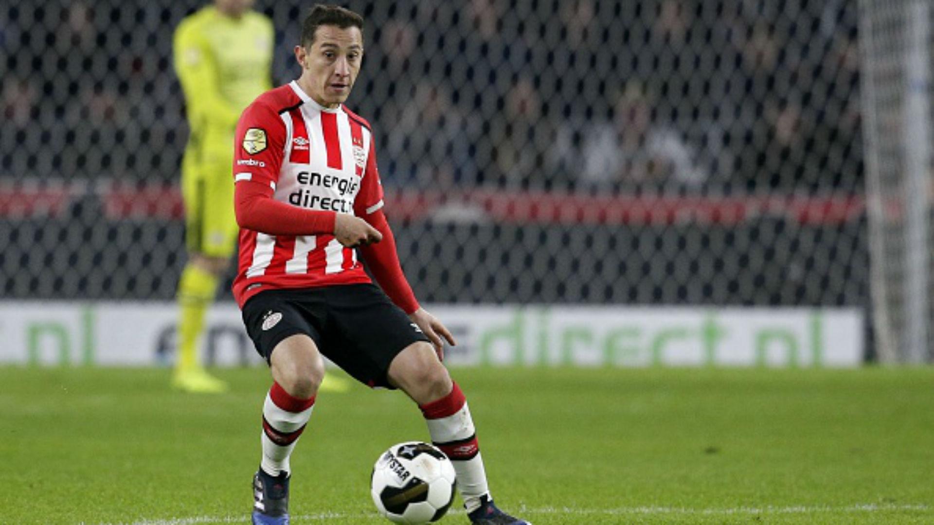 Andrés Guardado PSV Eredivisie Holanda