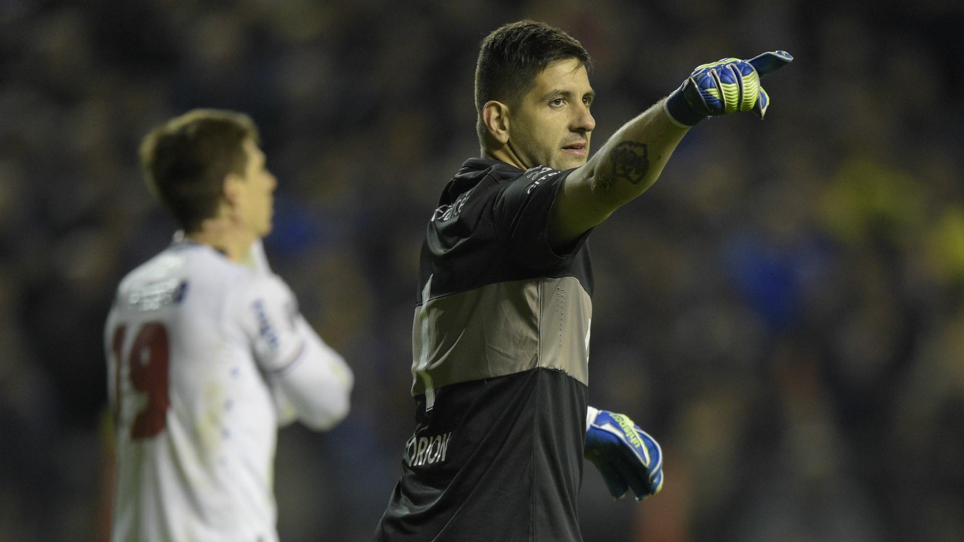 Agustin Orion Boca Juniors Nacional Copa Libertadores Cuartos de final