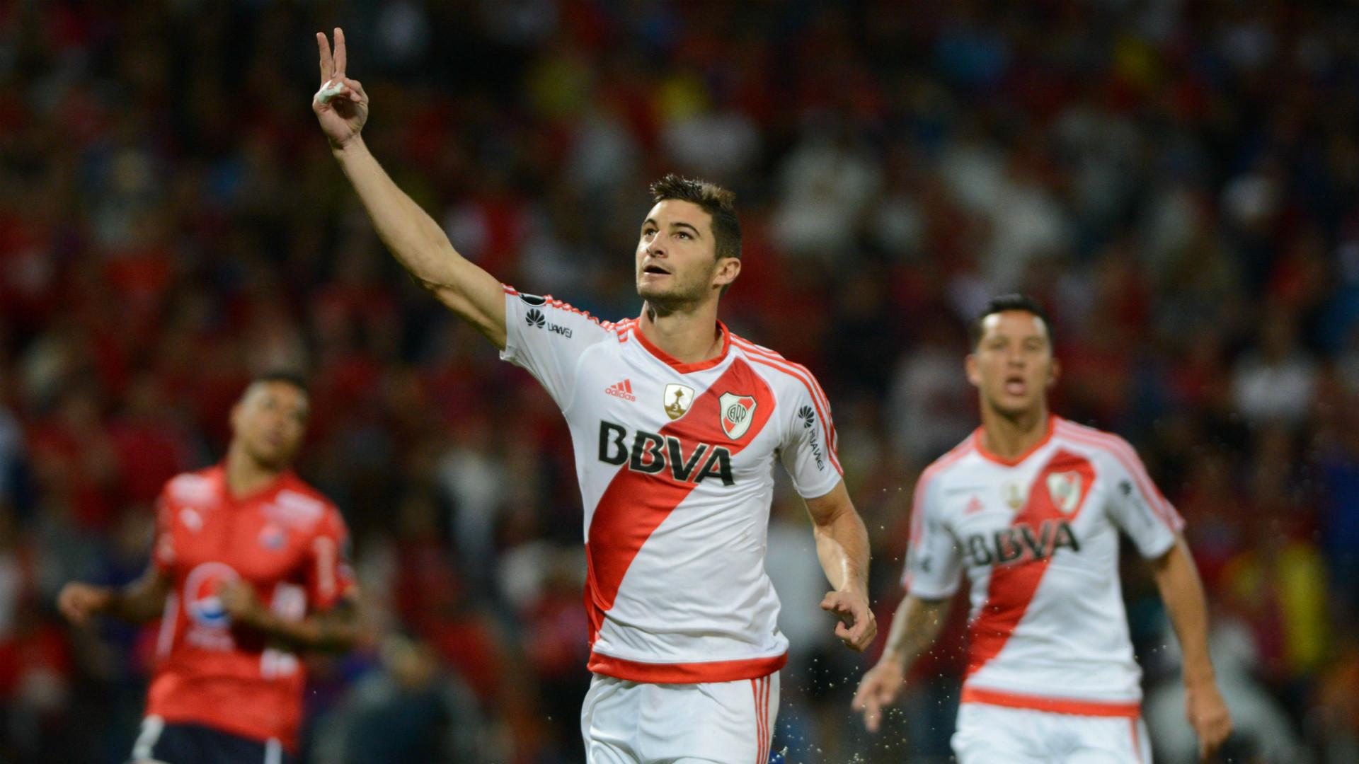 Lucas Alario DIM River Copa Libertadores 15032017