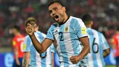 Gabriel Mercado Chile v Argentina Eliminatorias WC Qualifying 2018 24032016
