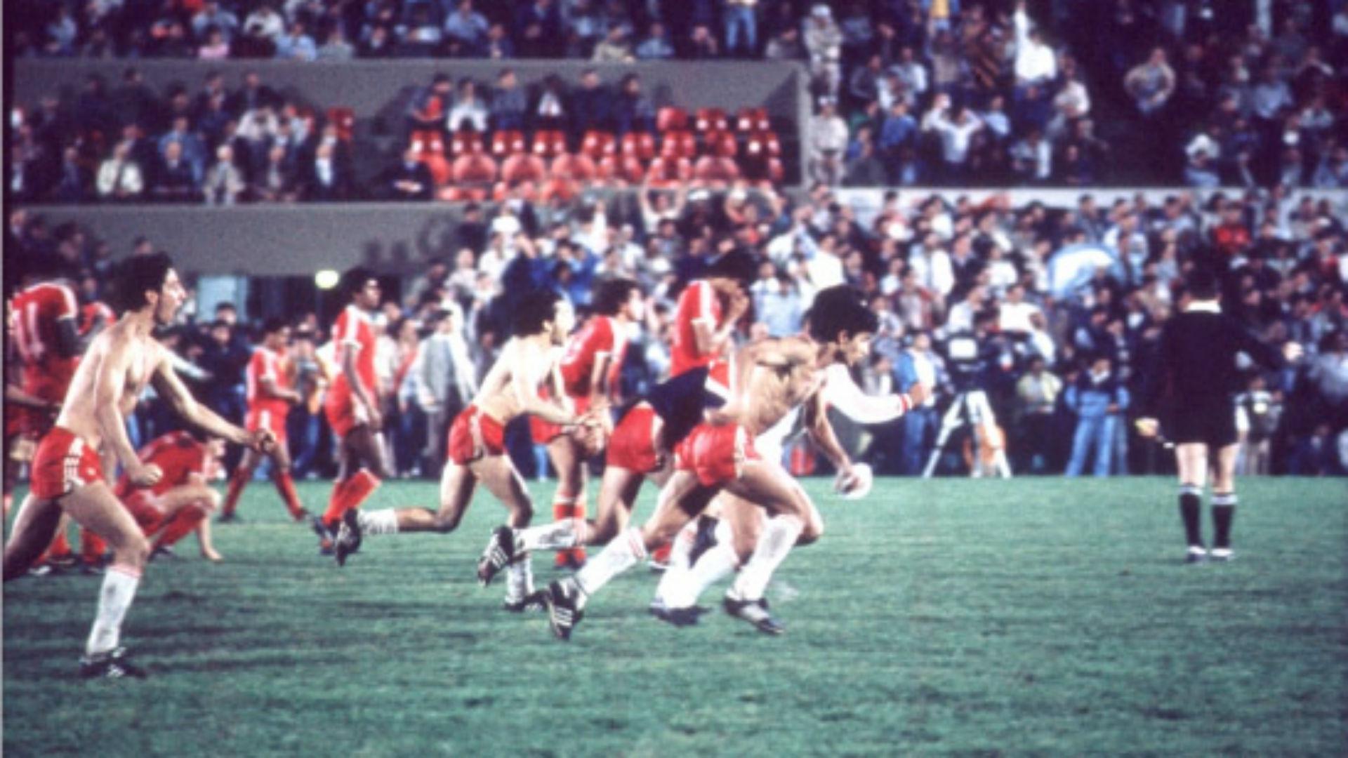 Argentinos Juniors Copa Libertadores 1985