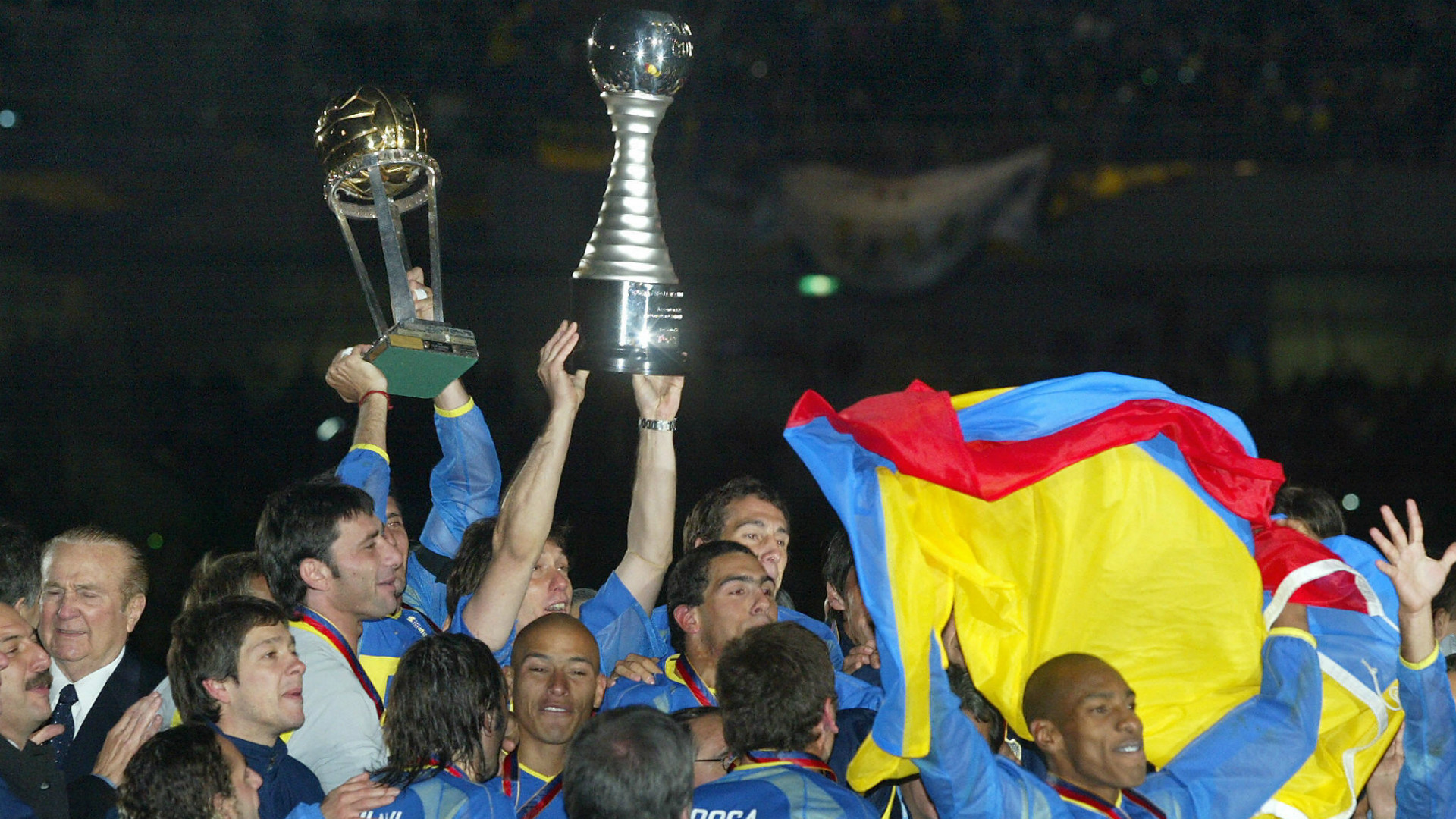 Boca Milan Copa Intercontinental 2003