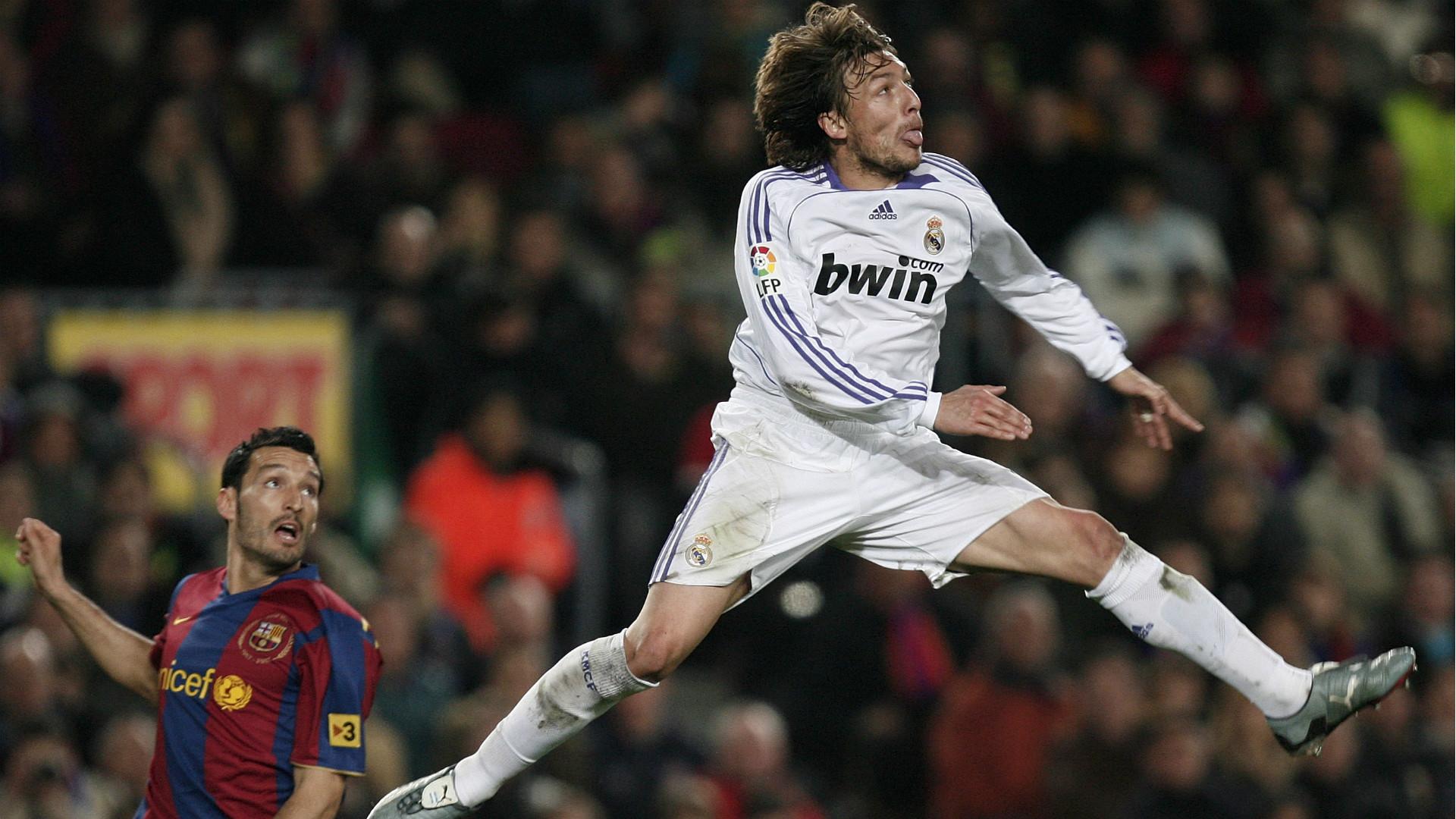 Gabriel Heinze Barcelona Real Madrid 23122007