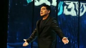 Diego Maradona Italia Napoles San Carlo 16012017