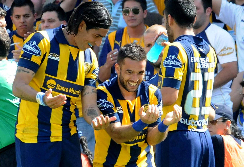 Sebastian Abreu Franco NiellRosario Central Newells Old Boys Campeonato de Primera Division 19102014
