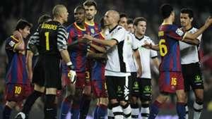 Barcelona Valencia La Liga 16102010