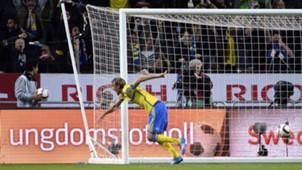 Ola Toivonen Sweden Russia Euro 2016 qualifier 09102014