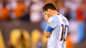 Lionel Messi Argentina Chile Copa America Final 26062016
