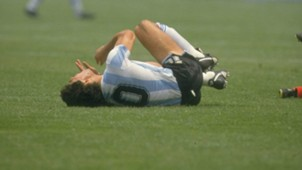Maradona patadas golpeado Mexico 1986 Mundial 16062016