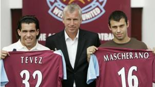Tevez Mascherano presented West Ham