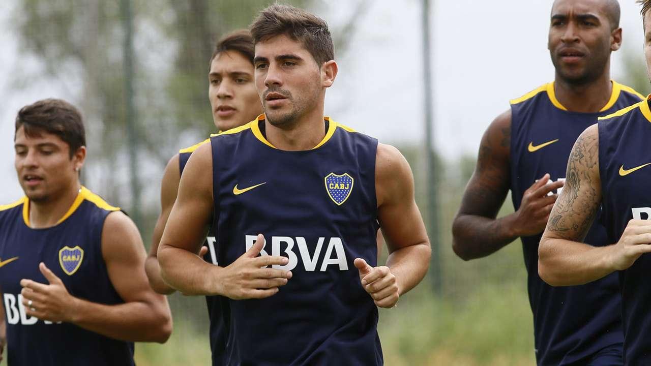 Cristian Erbes Pretemporada Boca 2016 09012016
