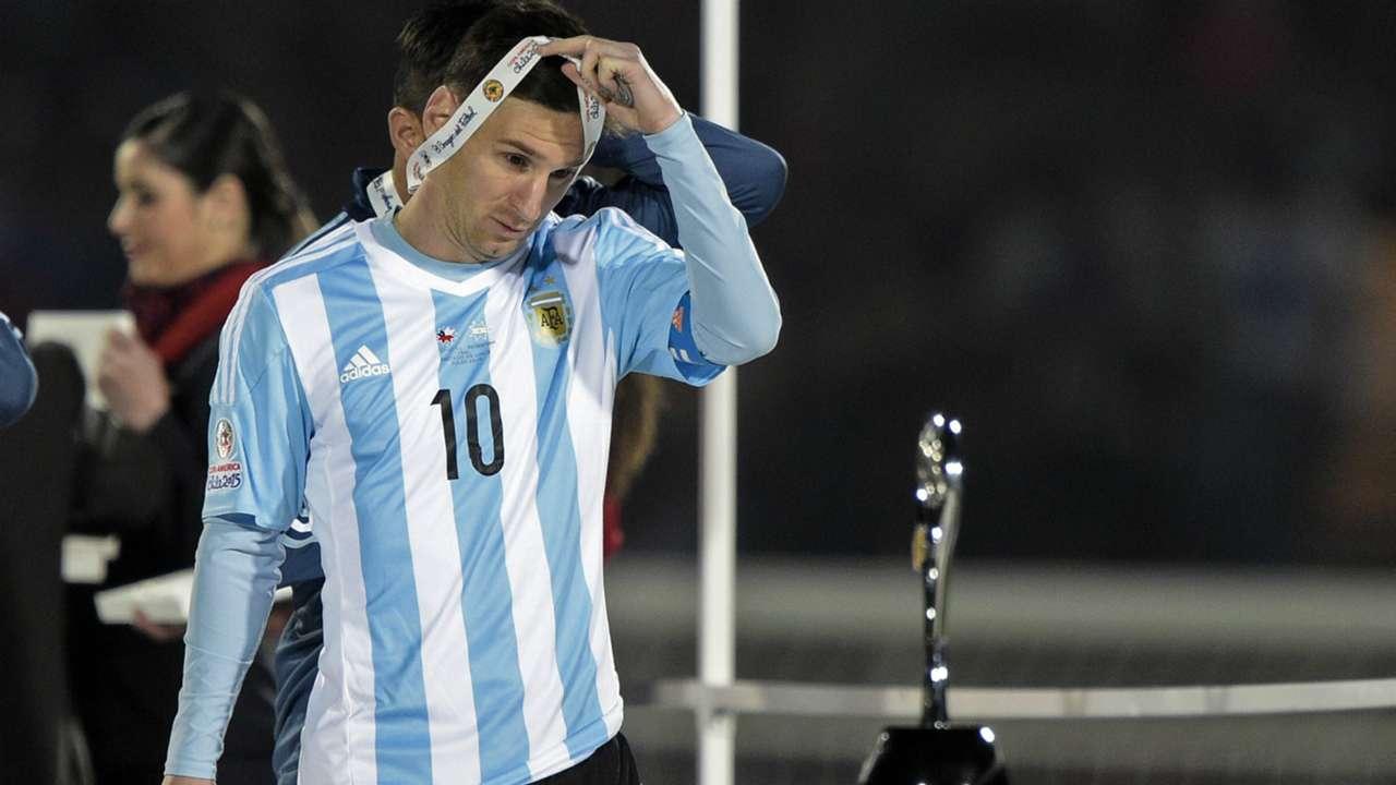Lionel Messi Copa América Argentina - Chile 04072015