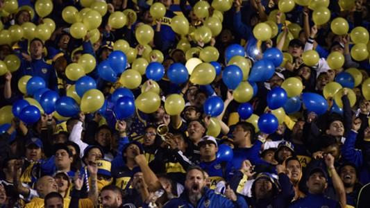 hinchas de Boca Bolivar Copa Libertadores 10032016