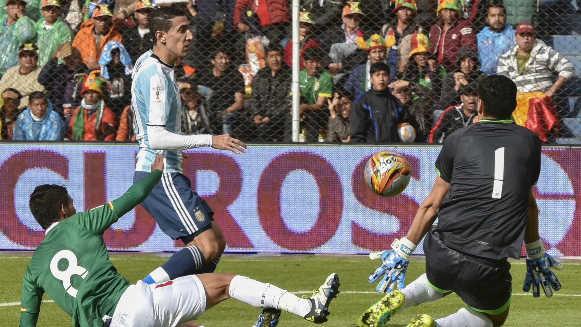 Bolivia Argentina Lampe Di Maria Eliminatorias Sudamericanas Fecha 14 28032017