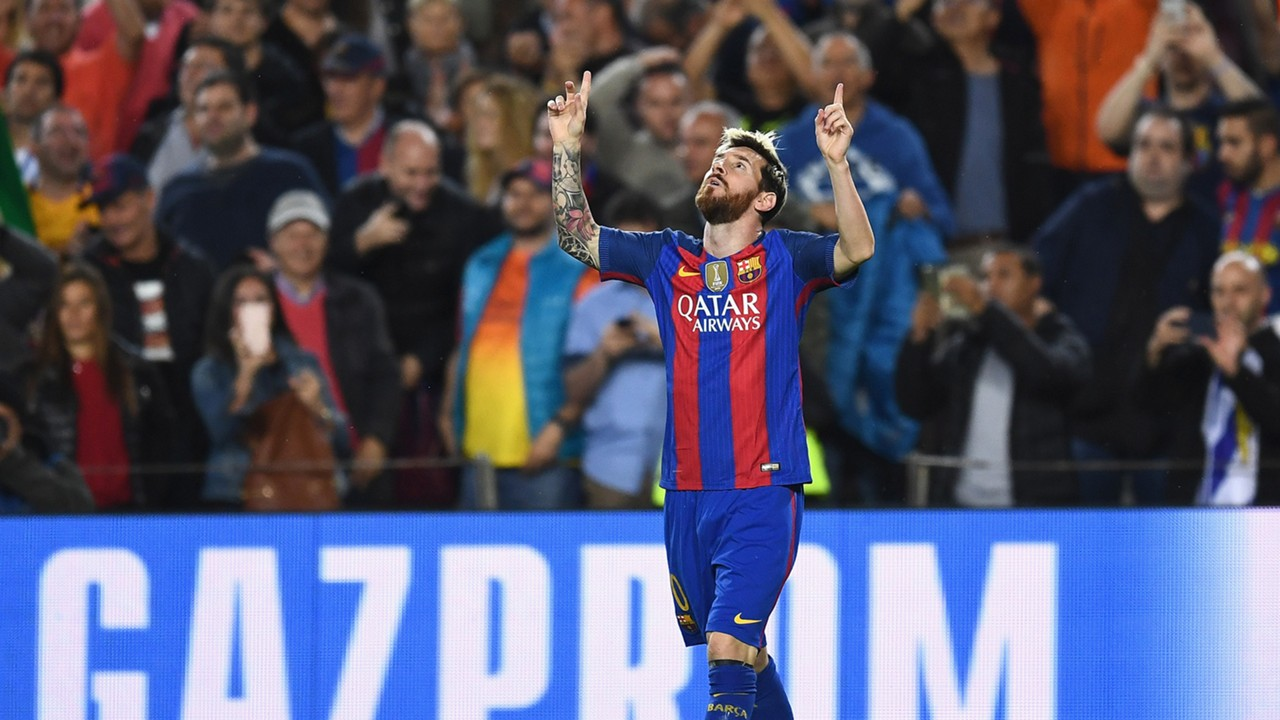 Lionel Messi Barcelona Manchester City Champions League 19102016