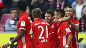 Bayern celebration in Köln 040317