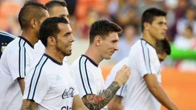 Argentina - Bolivia amistoso internacional 04092015