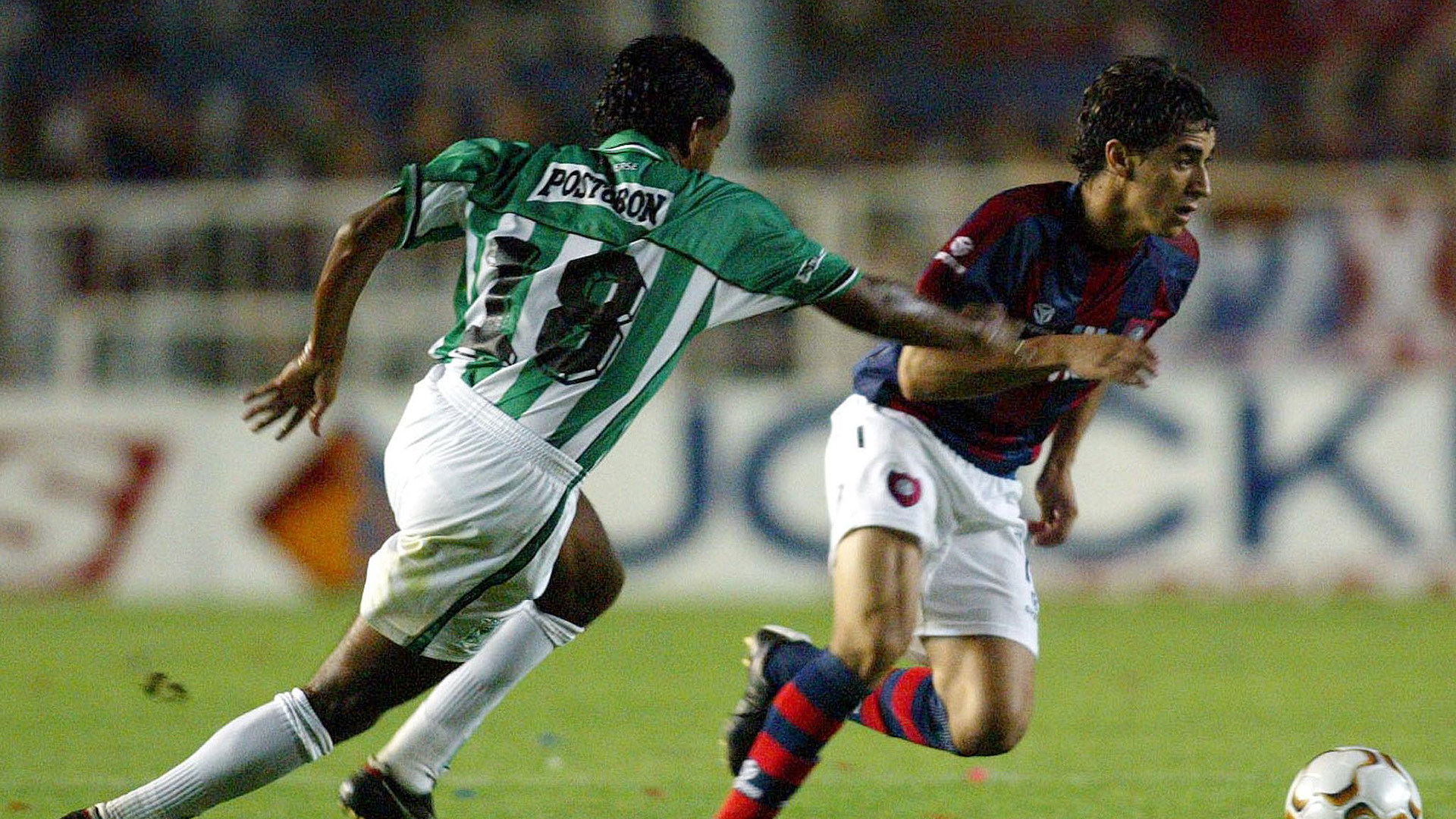 San Lorenzo Atletico Nacional Copa Sudamericana 2002