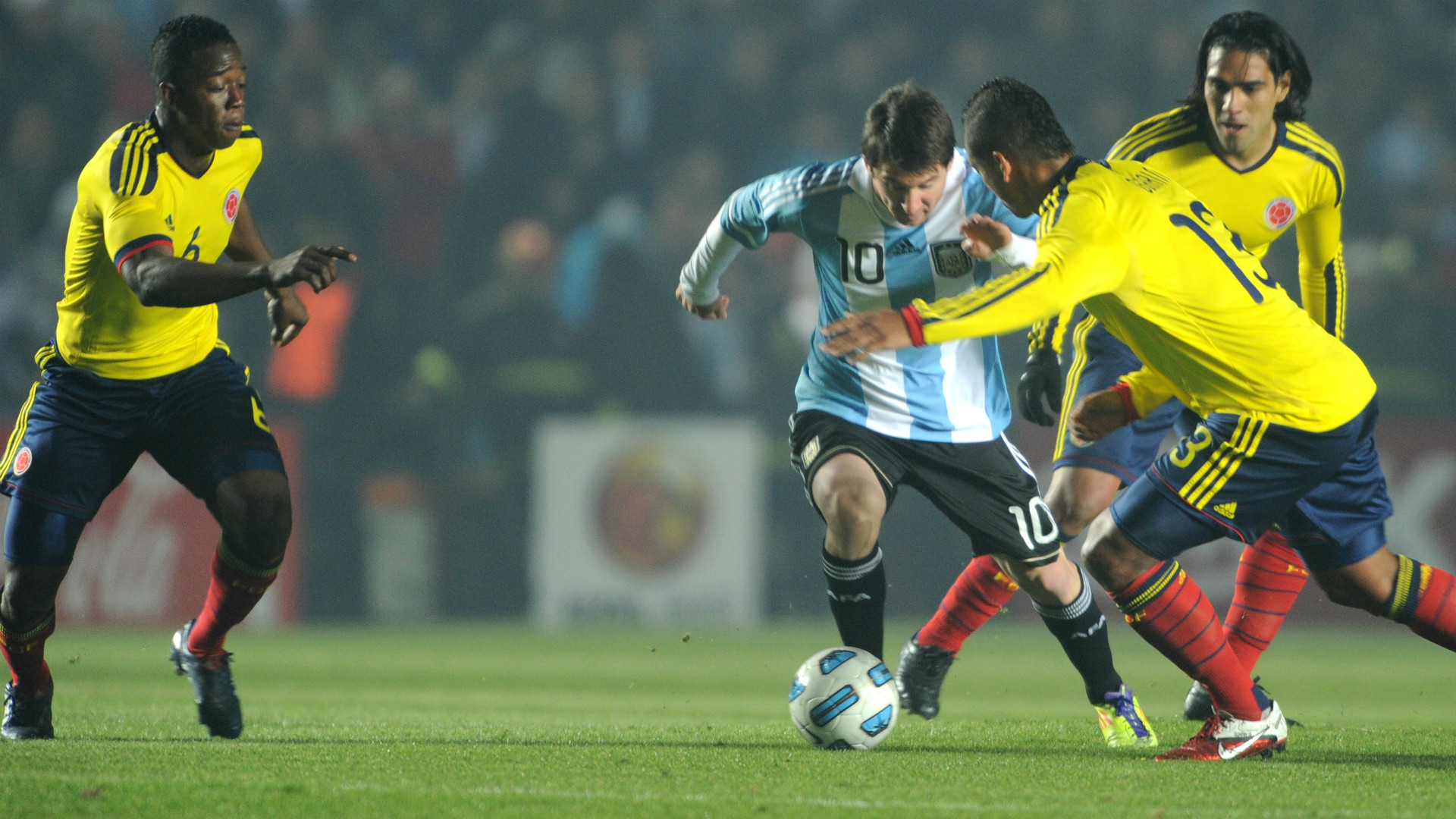 Lionel Messi Argentina Colombia Copa America 06072011