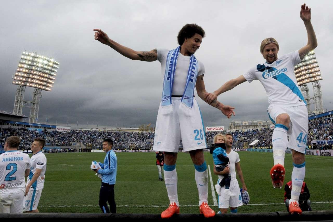 Zenit Russia Premier League Champion