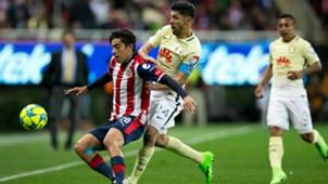 Oribe Peralta Rodolfo Pizarro Chivas América Liga MX México 18022017