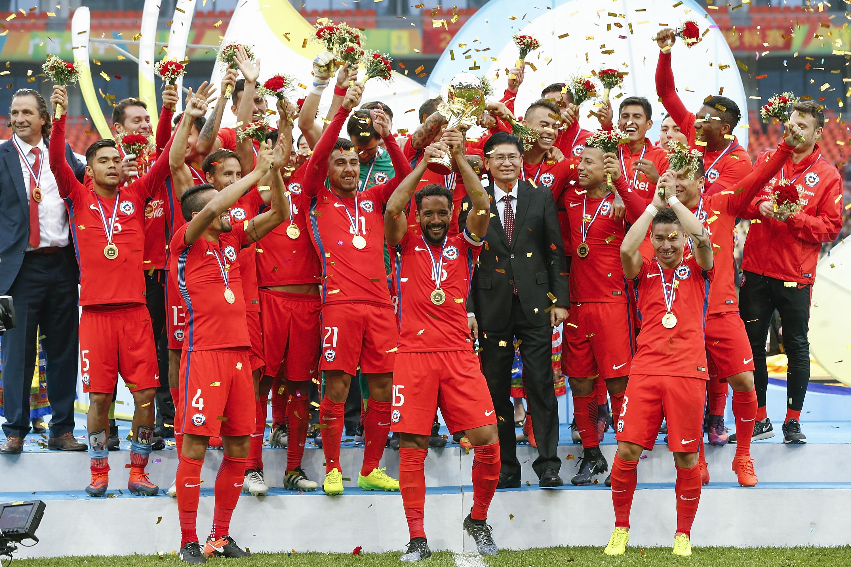 Chile Islandia China Cup