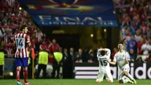 Gabi Dani Carvajal Isco Real Madrid Atletico Madrid Champions League Final 2014