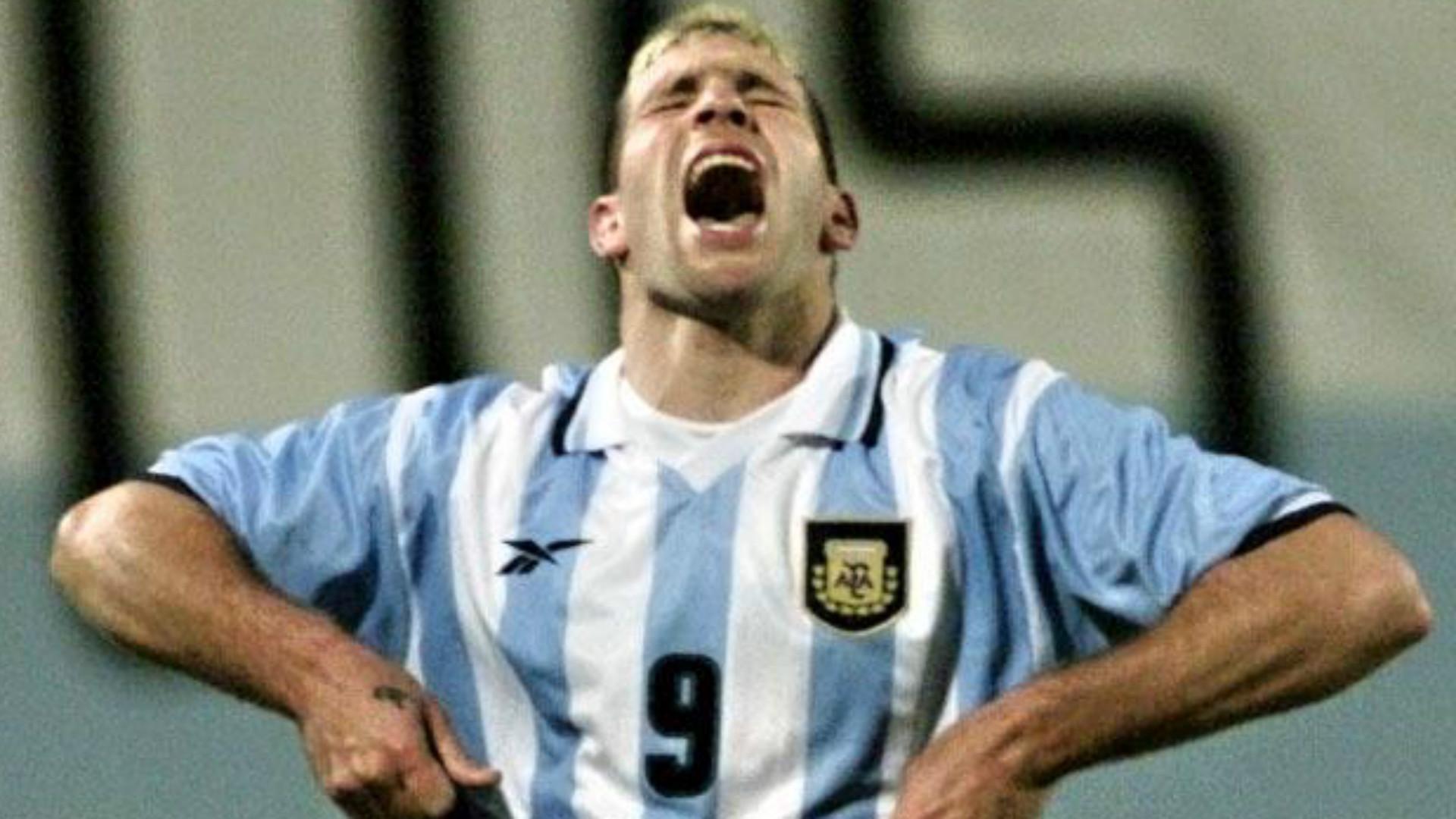 Martín Palermo Argentina Colombia Copa América 1999