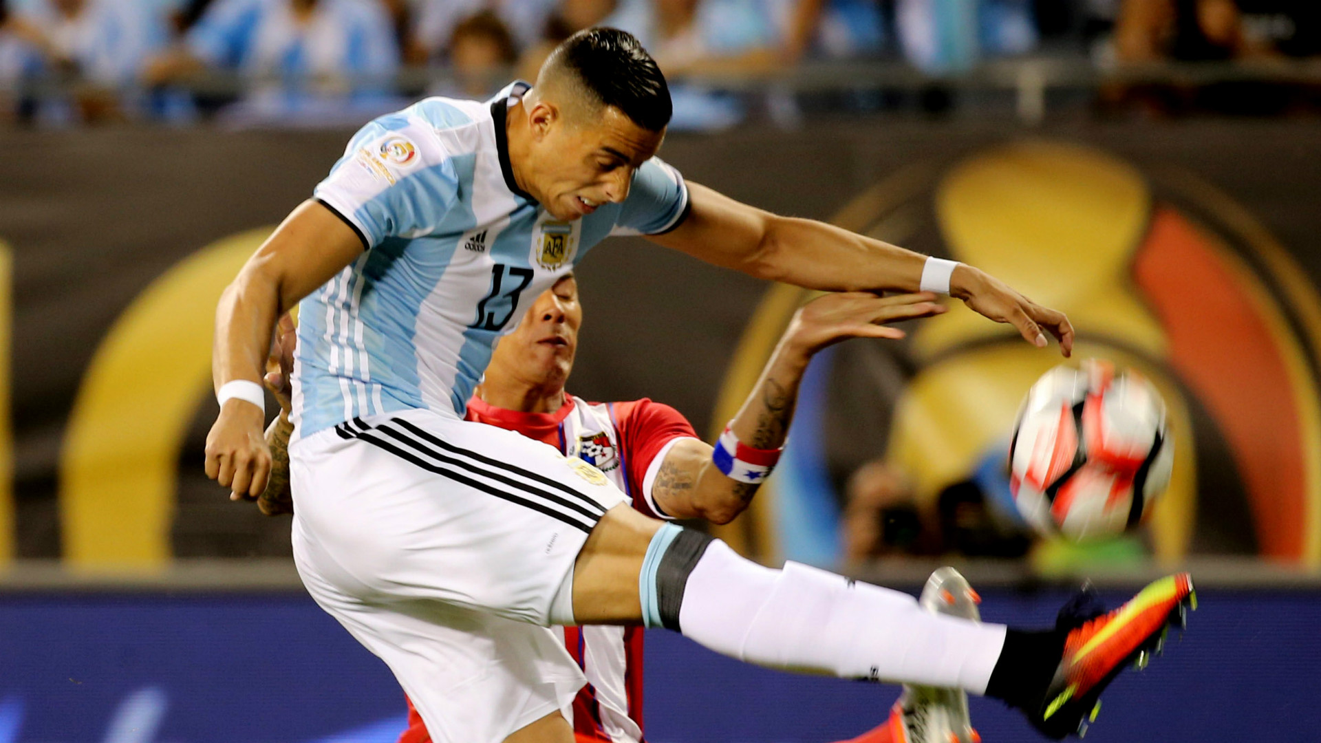 Ramiro Funes Mori Argentina Panama Copa America 10062016