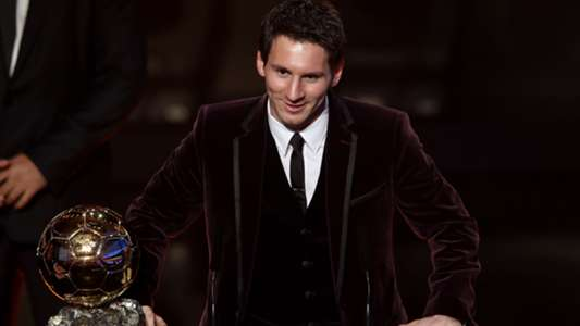 Looks Messi Ballon 2011 D'or Dolce & Gabbana
