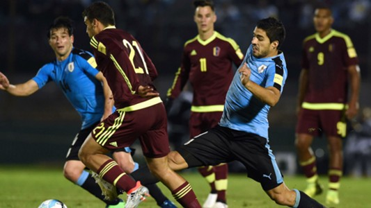 Uruguay – Venezuela Eliminatorias Sudamericanas 06102016