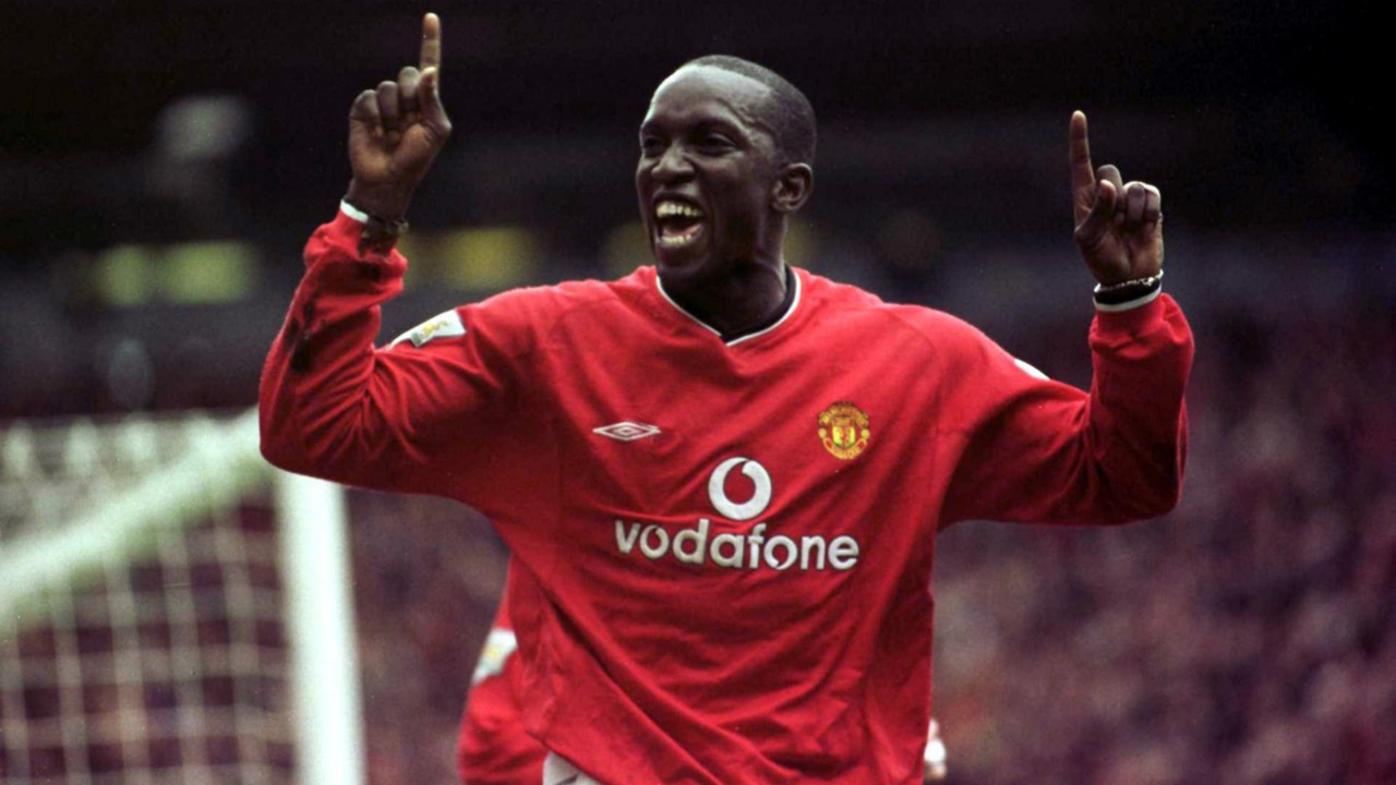 Dwight Yorke Manchester United Leeds United Carling Cup 21102000